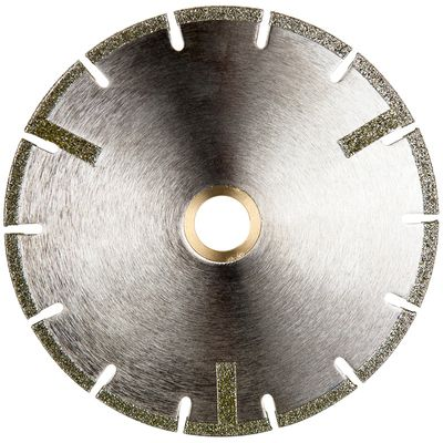 Electroplated U-Slot Blade with Side Protection Strips