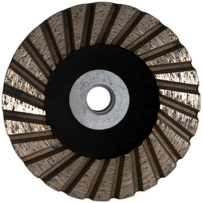 Turbo Cup Wheel Black (4 inch)