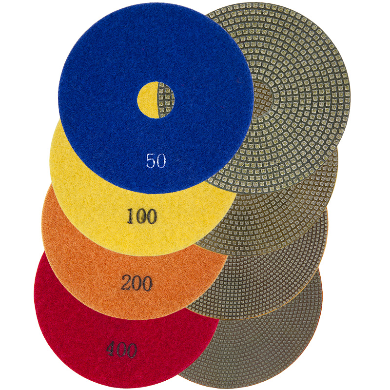 Electroplated Polishing Pads for Marble 4 inch