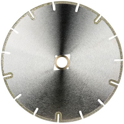 Electroplated U-Slot Blade (7, 8 inch)